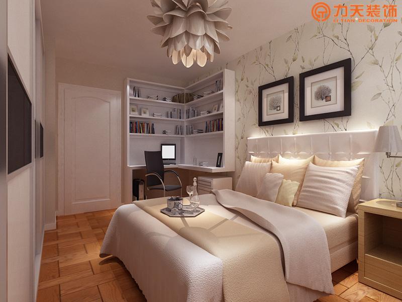 现代 二居 卧室图片来自阳光力天装饰在金隅悦城-95㎡-现代风格的分享