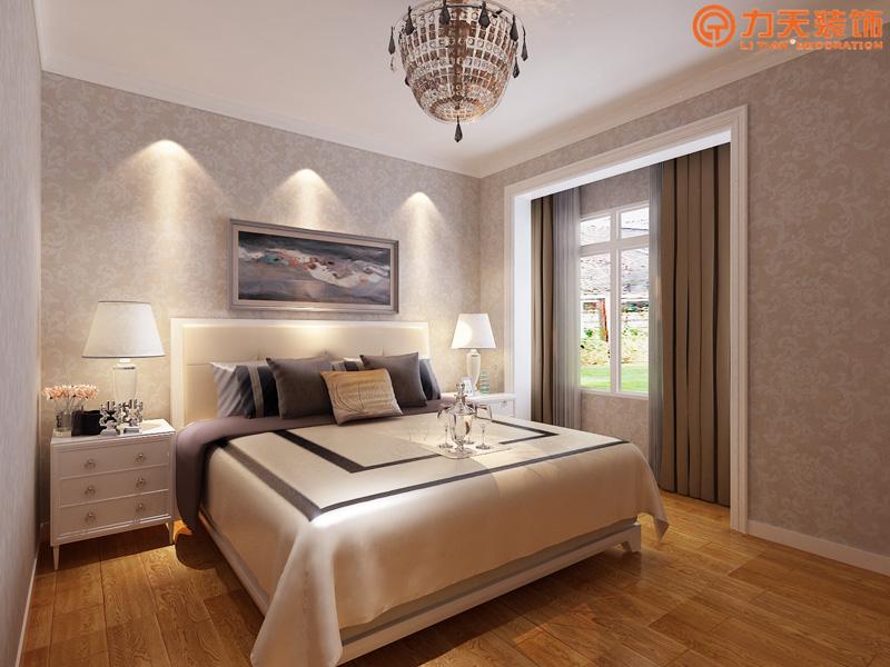 现代 三居 卧室图片来自阳光力天装饰在北宁湾-140㎡-现代风格的分享