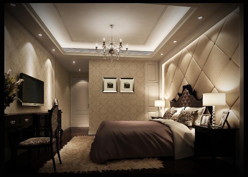简欧 时尚简约 名雕装饰 80后 复式 卧室图片来自名雕装饰设计在桃源居首府品味简约时尚生活格调的分享