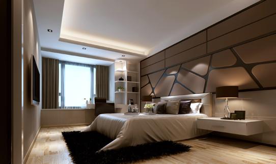 现代简约 简约 唯美时尚 80后 名雕装饰 卧室图片来自名雕装饰设计在唯美装饰,纯色演绎现代简约的分享
