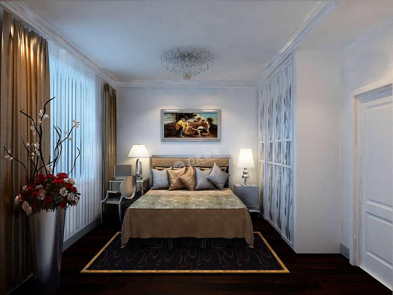 简约 二居 卧室图片来自阳光力天装饰在海逸长洲翰景园73㎡-现代简约的分享