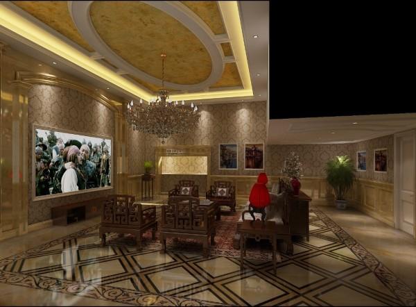 室内布置中也有既趋于现代实用,又吸取传统的特征,新型的沙发、欧式古典的琉璃灯具和壁面装饰,配以东方传统的家具和埃及的陈设、小品等