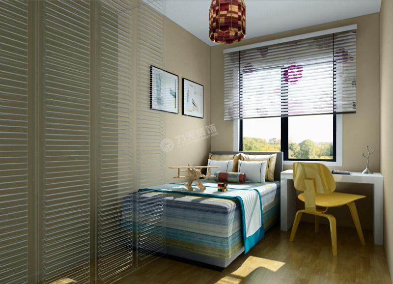 田园 二居 卧室图片来自阳光力天装饰在盛世年华-70㎡-现代田园的分享