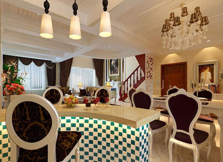 欧式 田园 别墅 白领 80后 小资 厨房图片来自实创装饰百灵在欧式田园184平米通州物资学院的分享