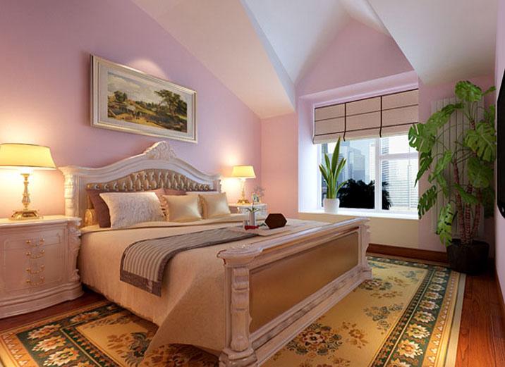 欧式 田园 别墅 白领 80后 小资 卧室图片来自实创装饰百灵在欧式田园184平米通州物资学院的分享