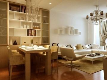 首航欣程二居室现代简约风格设计