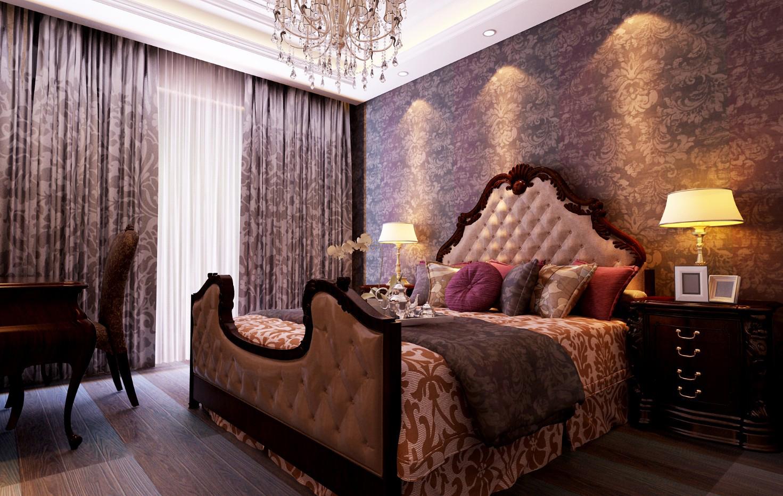 卧室图片来自xushuguang1983在奢华有内涵 120平米古典三居的分享