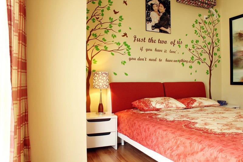 地中海 唯美浪漫 二居 实用美观 唯美装饰 唯美装修 卧室图片来自唯美装饰在武汉城市广场的分享