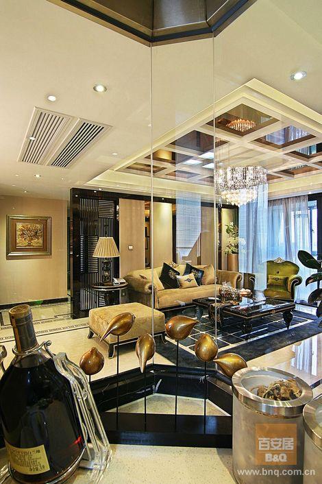 客厅图片来自百安居设计中心在皇都的分享