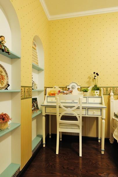 地中海 徐曙光 四口之家 儿童房图片来自xushuguang1983在满满的爱 一家四口133平地中海家的分享