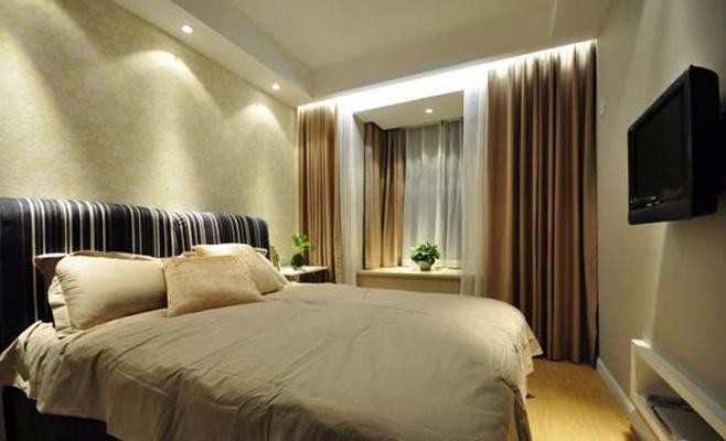 文艺青年 舒适 温馨 小清新 卧室图片来自北京合建装饰在清新淡雅的简约居室的分享