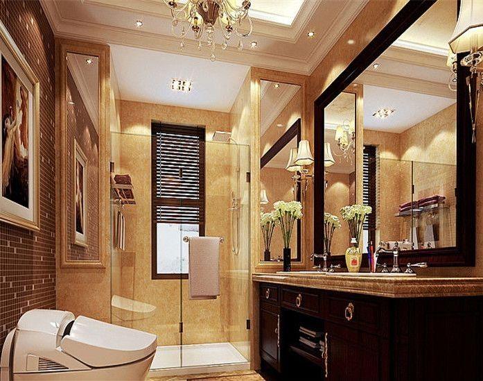 简约 欧式 田园 混搭 二居 三居 别墅 白领 收纳 卫生间图片来自纯度装饰在棠湖泊林城-欧美风情设计案例的分享