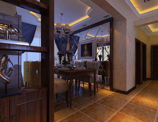 百家装饰 沈阳装修 装饰装修 三居 80后 白领 小资 餐厅图片来自装修顾问在美式带有欧罗巴的奢侈与贵气的分享