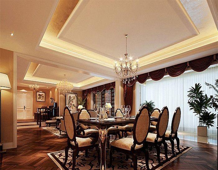 简约 欧式 田园 混搭 二居 三居 别墅 白领 收纳 餐厅图片来自纯度装饰在棠湖泊林城-欧美风情设计案例的分享