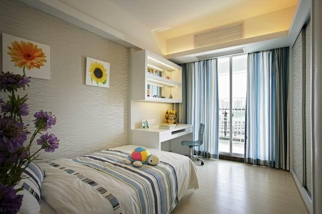 简约 三居 白领 收纳 80后 小资 卧室图片来自成都新空间装饰集团在华润凤凰城现代风格装修的分享