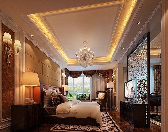 简约 欧式 田园 混搭 二居 三居 别墅 白领 收纳 卧室图片来自纯度装饰在棠湖泊林城-欧美风情设计案例的分享