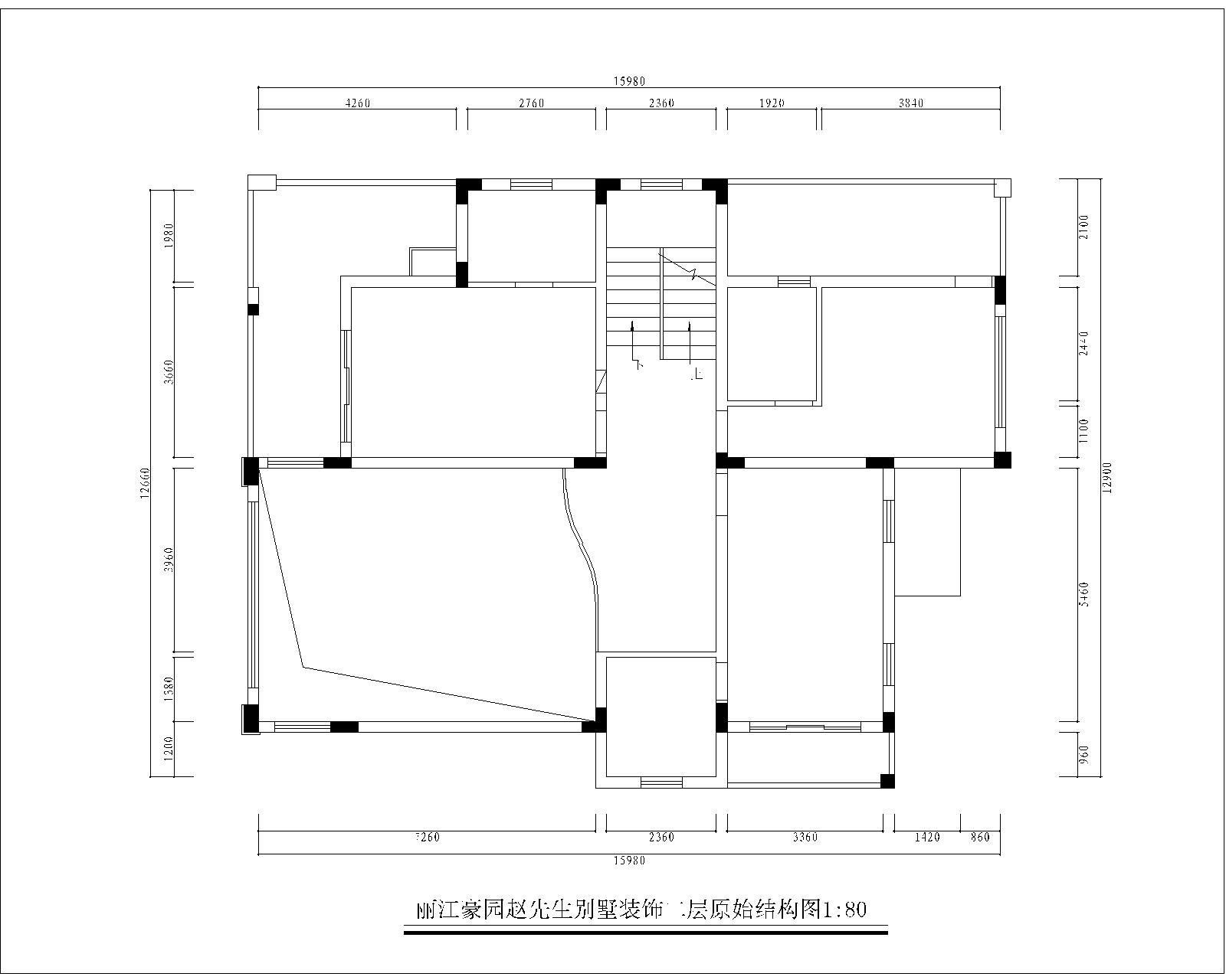 欧式 别墅 典雅 高富帅 三层别墅 户型图图片来自名雕装饰设计在别墅旧房改造,彰显典雅品味的分享