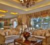 略减欧式风格的繁琐,保留欧式风格的高雅与浪漫,从整体到局部、从空间到室内陈设塑造及布艺搭配,精雕细琢,协调丰富了空间的表情。