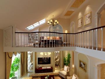230平米大气优雅古典复式设计
