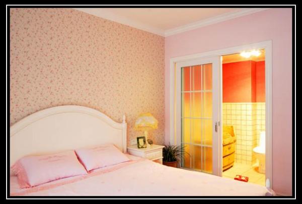 颂雅居--160平米卧室实景图