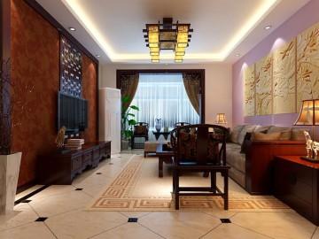 中式韵味简约时尚三居室