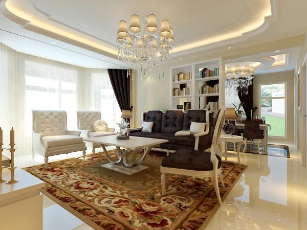 简欧风格设计-沙发背景设计