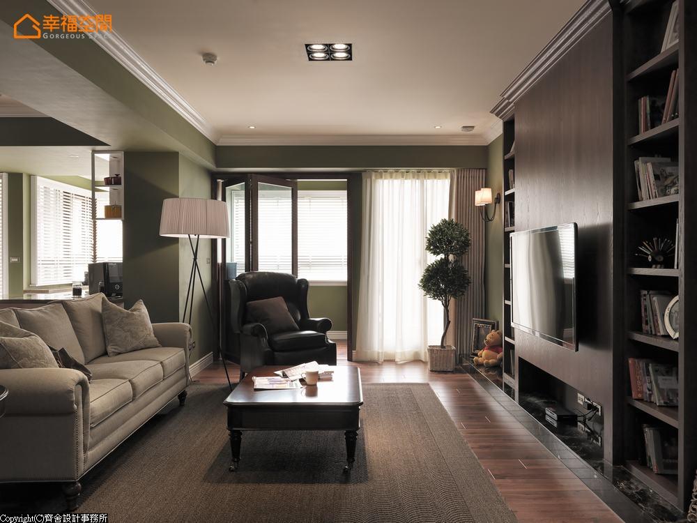 宜家 英伦 田园 收纳 文艺青年 客厅图片来自幸福空间在宜家风 深色铺述英伦气质的分享