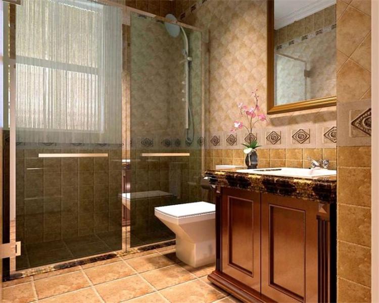 欧式 白领 三居 80后 卫生间图片来自沈阳名室经典装饰在沈阳名流印象央视欧式效果图的分享