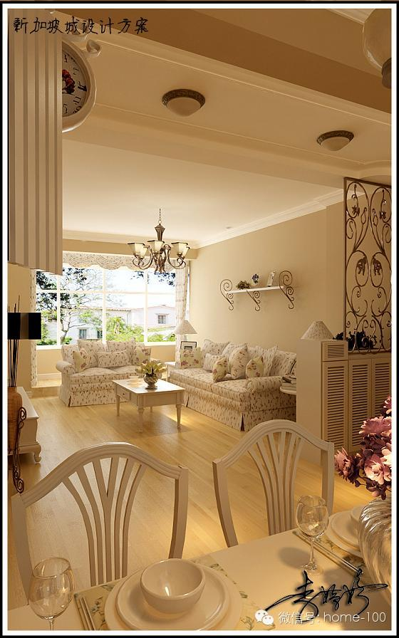 田园 客厅图片来自多啦A梦的百宝袋在新加坡城的分享