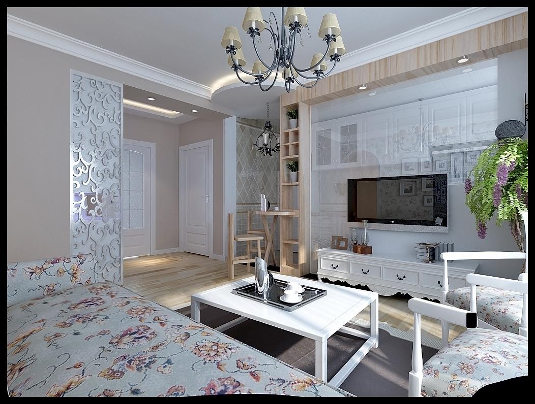 田园风格 晋级装饰 现代简约 现代混搭 客厅设计 客厅图片来自沈阳性价比高的装修公司在【玫瑰城】现代田园风格案例的分享