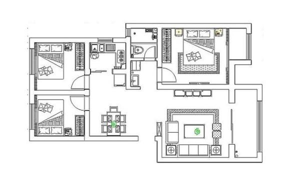 丹石街区-户型图