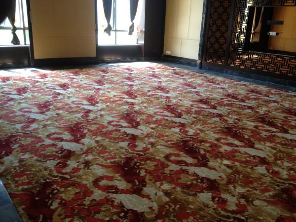 地面地毯铺设
