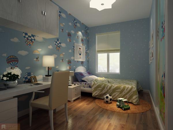 儿童房:让壁纸更加可爱,孩子更喜欢