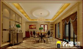 别墅 新古典 高富帅 白富美 名雕装饰 豪华 餐厅图片来自名雕装饰设计在900平新古典豪华潮流湖景别墅的分享