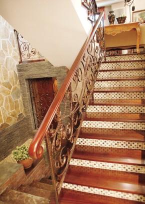 楼梯 其他图片来自尚层装饰-杨在WeHouse的分享