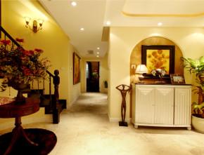 楼梯 玄关 其他图片来自尚层装饰-杨在香山清琴新古典风格的分享