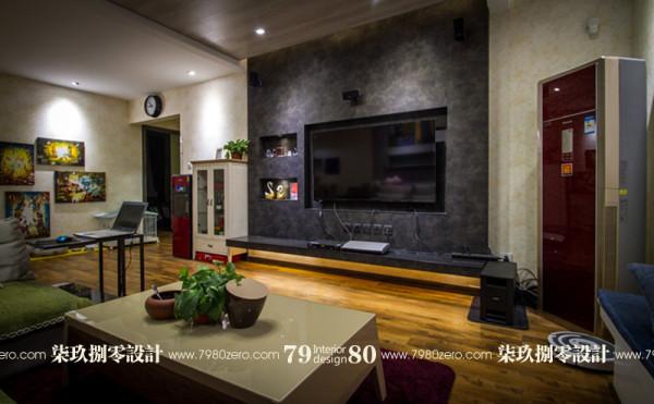 七九八零,客厅设计,北京七九八零室内设计工作室,现代简约设计,旧房改造