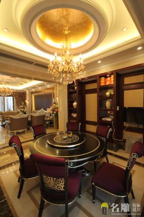 别墅 新古典 名雕装饰 高品位 高富帅 白富美 餐厅图片来自名雕装饰设计在新古典高品位家居豪华别墅的分享