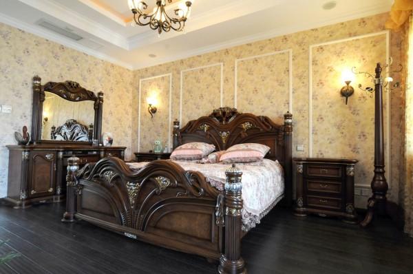 观山悦 卧室 床