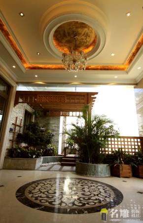 别墅 新古典 名雕装饰 高品位 高富帅 白富美 阳台图片来自名雕装饰设计在新古典高品位家居豪华别墅的分享