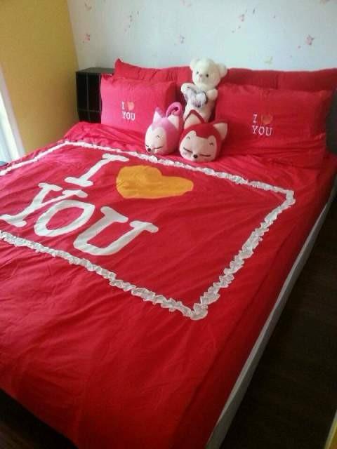 这个当然就是婚床啦。。