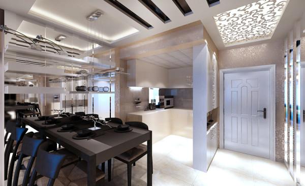 后现代风格设计-厨房餐厅设计效果