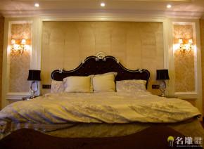 别墅 新古典 名雕装饰 高品位 高富帅 白富美 卧室图片来自名雕装饰设计在新古典高品位家居豪华别墅的分享
