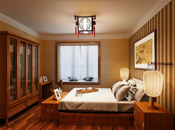 中式卧室,典雅温馨。