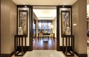 中式 别墅 万科高尔夫 别墅装修 舒适 书房图片来自武汉实创装饰在中式鸟语花香的分享