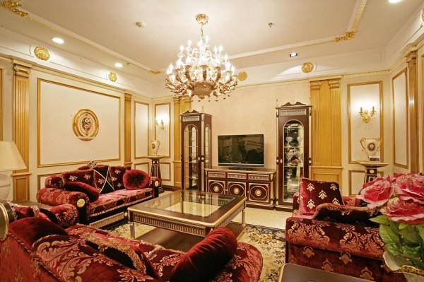 中粮祥云国际生活区 客厅 沙发 茶几 电视背景墙