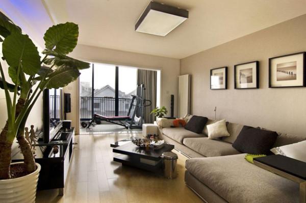 完全开放的格局让视野无限开阔,公寓房也可以如别墅般的大气