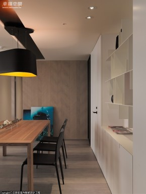 现代 简约 三居 小清新 文艺青年 餐厅图片来自幸福空间在165 m²在家游嬉的分享