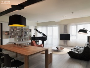 现代 简约 三居 小清新 文艺青年 客厅图片来自幸福空间在165 m²在家游嬉的分享