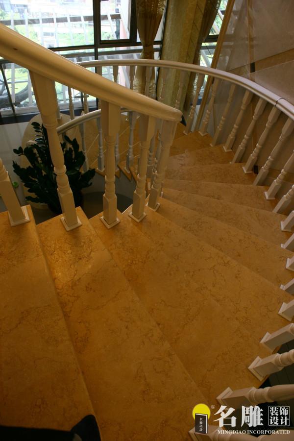 名雕装饰设计:楼梯